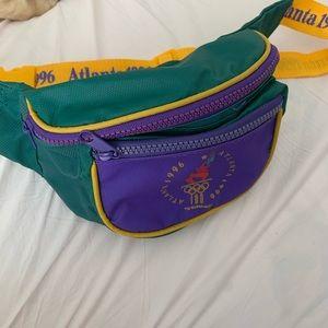 Vintage Atlanta 1996 retro fanny pack
